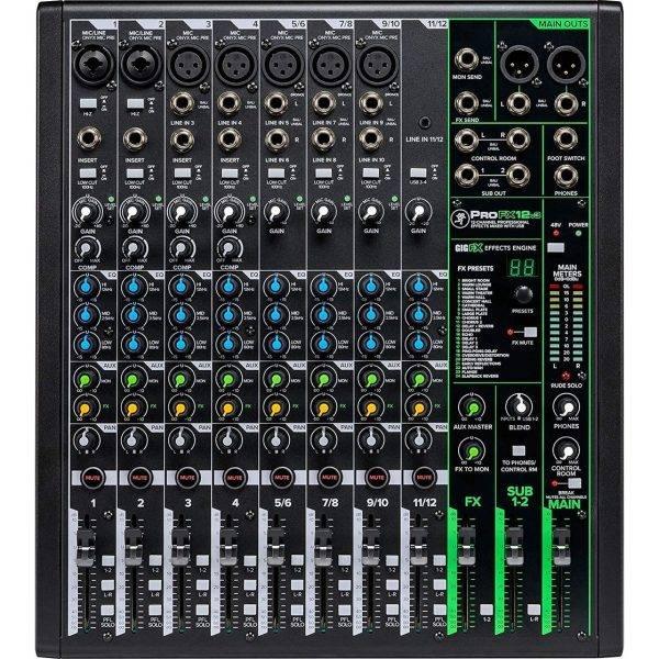 Mackie ProFX12v3 12-Channel Sound Reinforcement Mixer w/Built-In FX