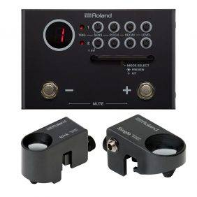 Roland TM-1 Trigger Module Bundle with RT-30H & RT-30K Drum Triggers