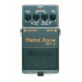 BOSS MT-2 Metal Zone Effects Distortion Pedal