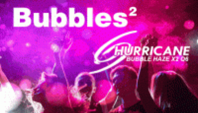 New Chauvet Bubble Haze X2 Q6