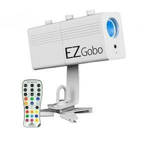 Chauvet EZgobo Rechargeable LED Gobo Lighting Effect