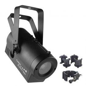 Chauvet Gobo Zoom USB LED Gobo Projector with CLP-10 O Clamp