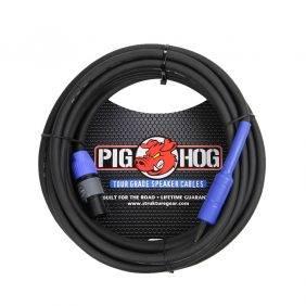 Crown XTi 6002 Power Amp & 2 Pig Hog 25ft SPKON to 1/4' Cables Bundle