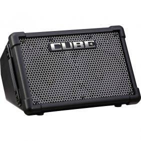 "Roland CUBE Street EX Battery Powered 50W 2x8"" Guitar Combo Amplifier"