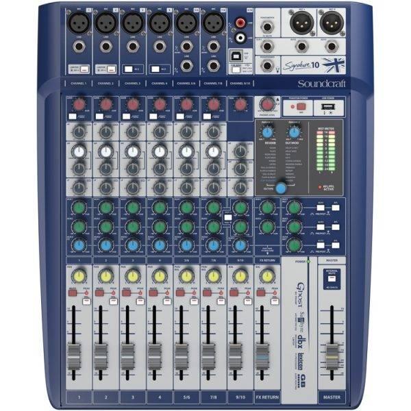 Soundcraft Signature 10 Mixer w/Effects