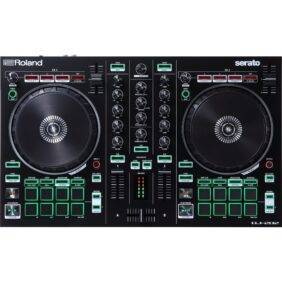Roland DJ-202 2-channel, 4-deck DJ Controller for Serato